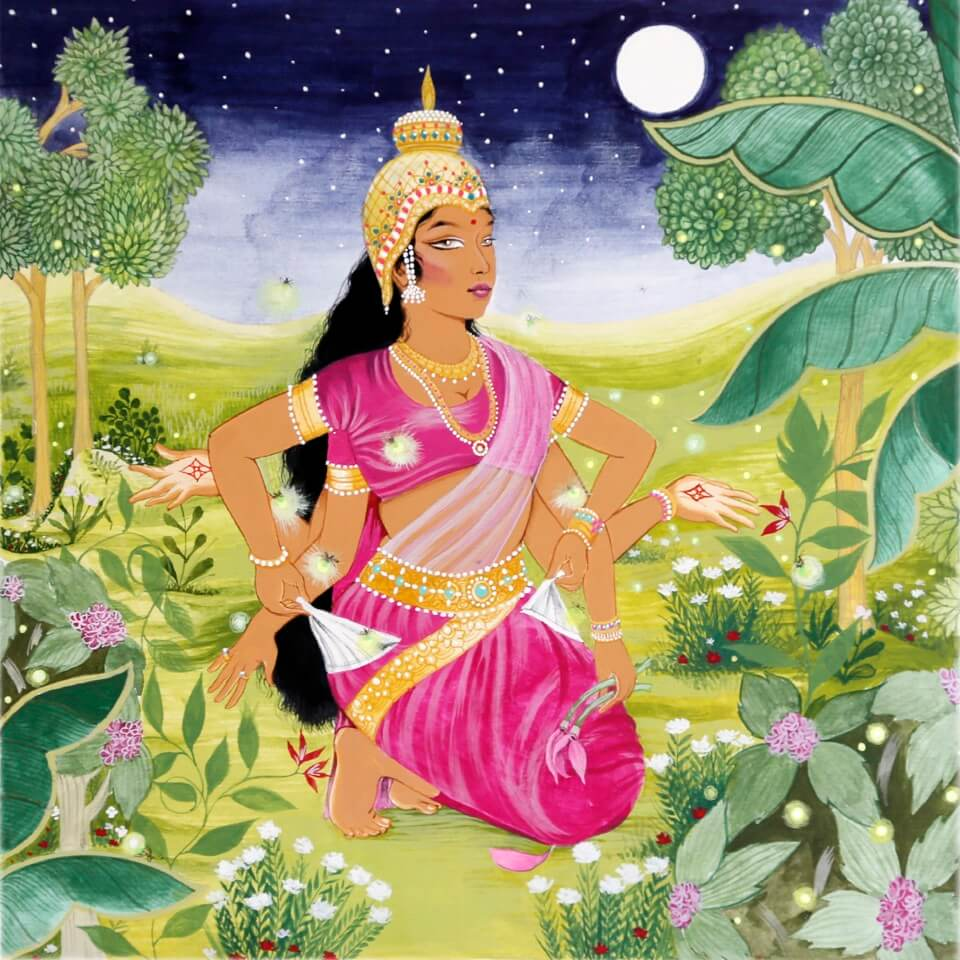 "Artwork: ""Broke Lakshmi"" by Rajni Perera"