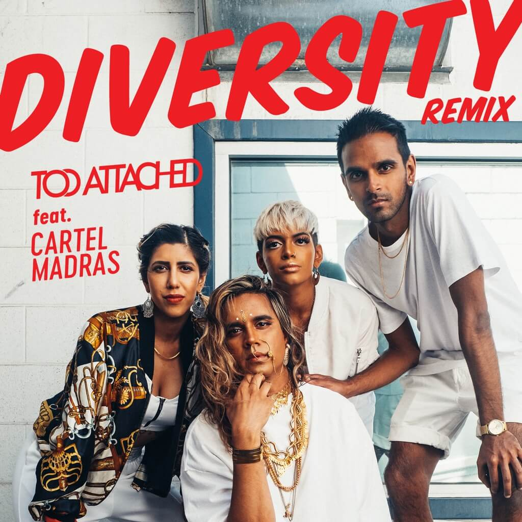 'Diversity remix (feat. Cartel Madras)' cover art