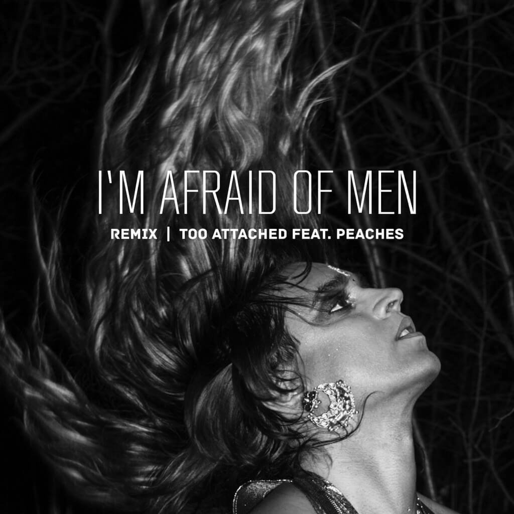 'I'm Afraid of Men remix (feat. Peaches)' cover art
