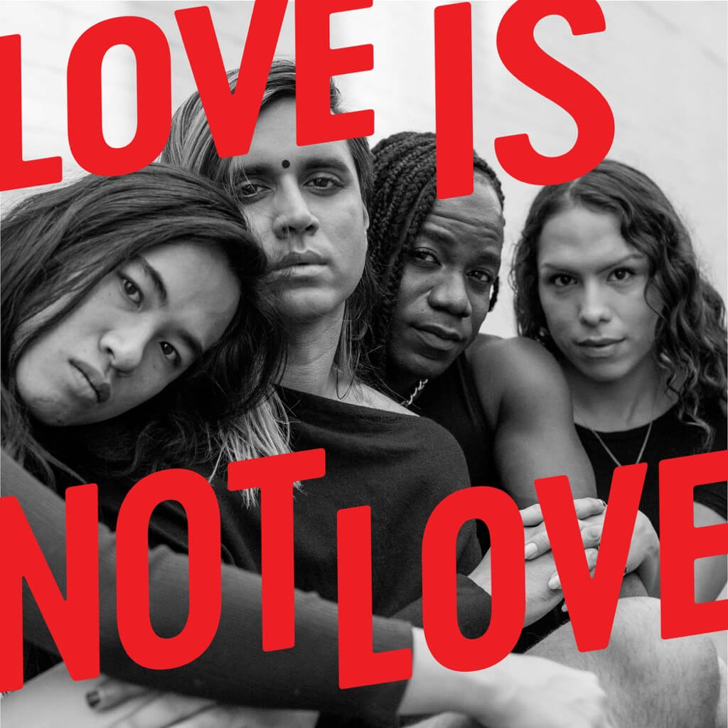 'Love Is Not Love' cover art