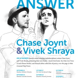 Ask and Answer tour w/ Chase Joynt, Fall 2016